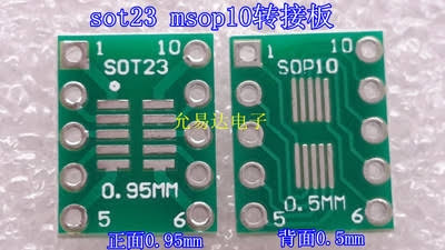Single sided PCB for si5351 Arduino based VFO - Raduino